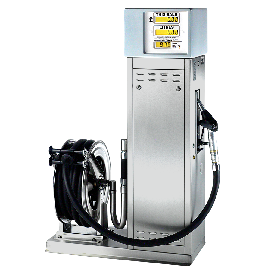 Pumptronics C-Series Plinth and Hose Reel