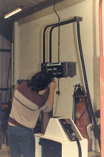 Building a Pumptronics pump in 1987